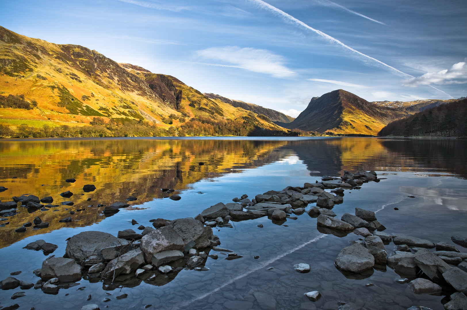 Geometry of Buttermere by Adam Lack